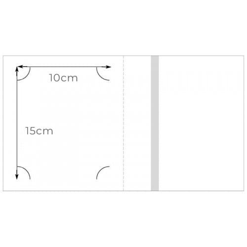 Chemise - Pochette identité SONY pour identité numérique Sony 10x15cm - 2 volets - Lot de 250