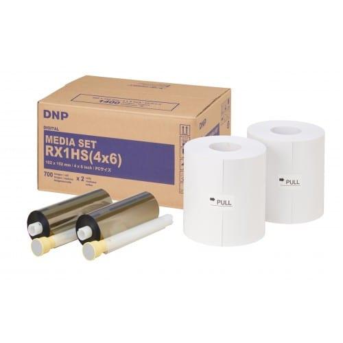 Consommable thermique DNP Pour DSRX1 - HS - 10x15cm (HS) - 1400 tirages
