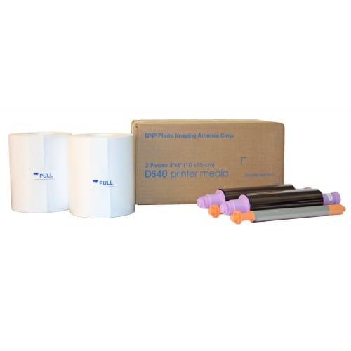 Consommable thermique DNP pour DS40 - 10x15cm - 800 tirages