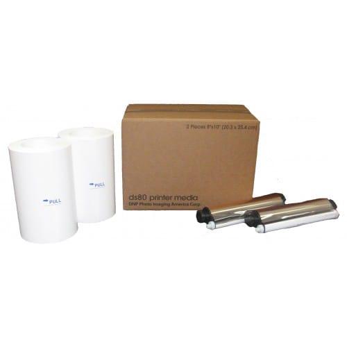 Consommable thermique DNP pour DS80 -  20x25cm - 260 tirages