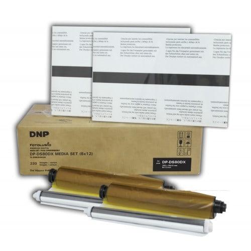 Consommable thermique DNP pour DS80DX - 20x30cm - 110 tirages (recto/verso)