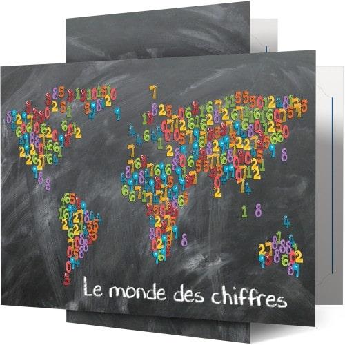 Collection Le Monde des Chiffres - Lot de 100