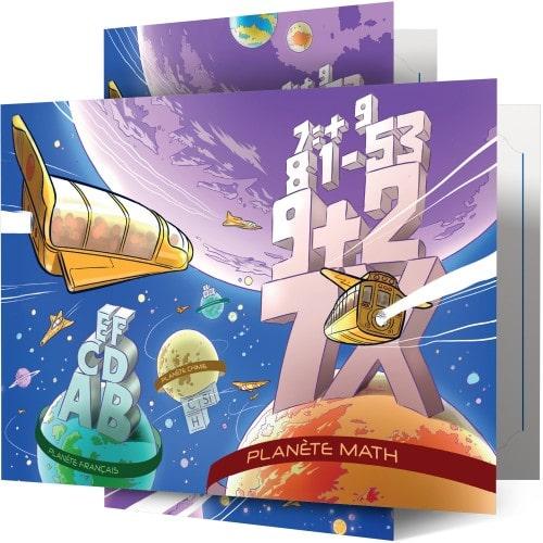 Collection Planète Math - Lot de 100