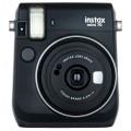 FUJI - Appareil photo instantané Instax Mini 70 - Format photo 62x46mm - Livré avec 2 piles lithium CR2 - Dim. (L)99,2x(H)113,7x(P)53.2mm - Noir