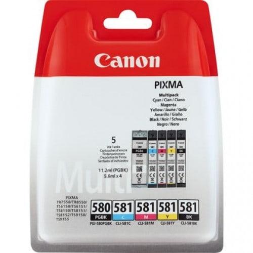 Pixma - PGI-570BK / CLI-571 BK/C/M/Y - Multipack de 5 encres