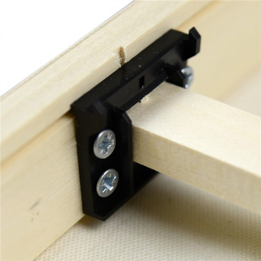 Accessoire châssis GOFRAME Clip pour barre centrale de renfort (prévoir 2 clips par barre)