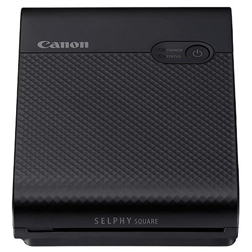 CANON - Imprimante thermique Selphy Square QX10 noire - Tirages 6,8x6,8cm - Impression Wifi direct smartphone