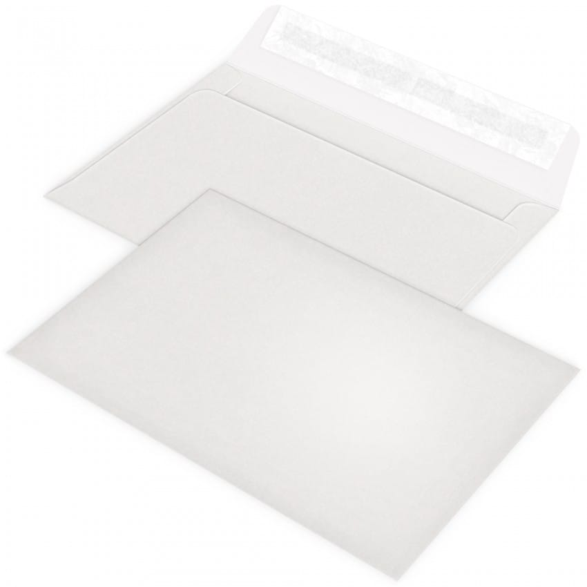 blanc naturel 12 x 17,5cm pour faire part
