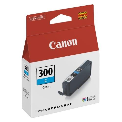 PFI-300C cyan pour Prograf Pro 300 (14,4ml)