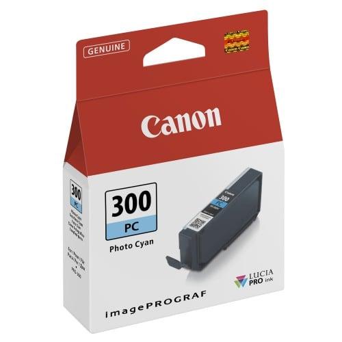 PFI-300PC cyan photo pour Prograf Pro 300 (14,4ml)