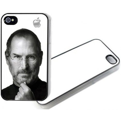 coque smartphone mb tech 2d iphone 4 4s souple blanche avec feuille aluminium