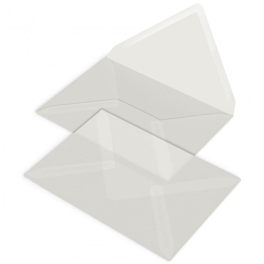 Enveloppe MB TECH transparente  12 x 17cm (Conseillée pour les Faire-part PFP009 ou PFP024)