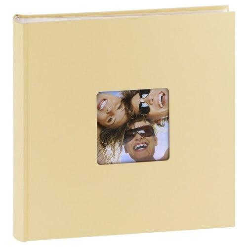 classique série ''Fun'' traditionnel 400 photos 10x15 ou 200 photos 13x18 - Beige - Couverture rigide