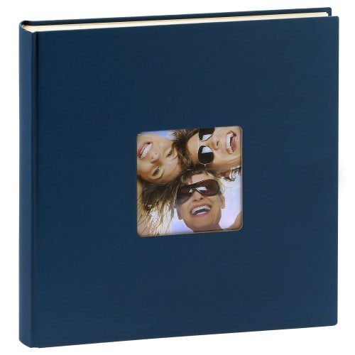 classique série ''Fun'' traditionnel 400 photos 10x15 ou 200 photos 13x18 - Beige - Couverture rigide