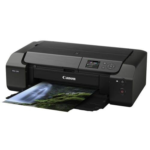 """CANON - Imprimante grand format Pixma Pro-200 - Largeur 13"""" (330mm) - A3+ - 8 couleurs"""
