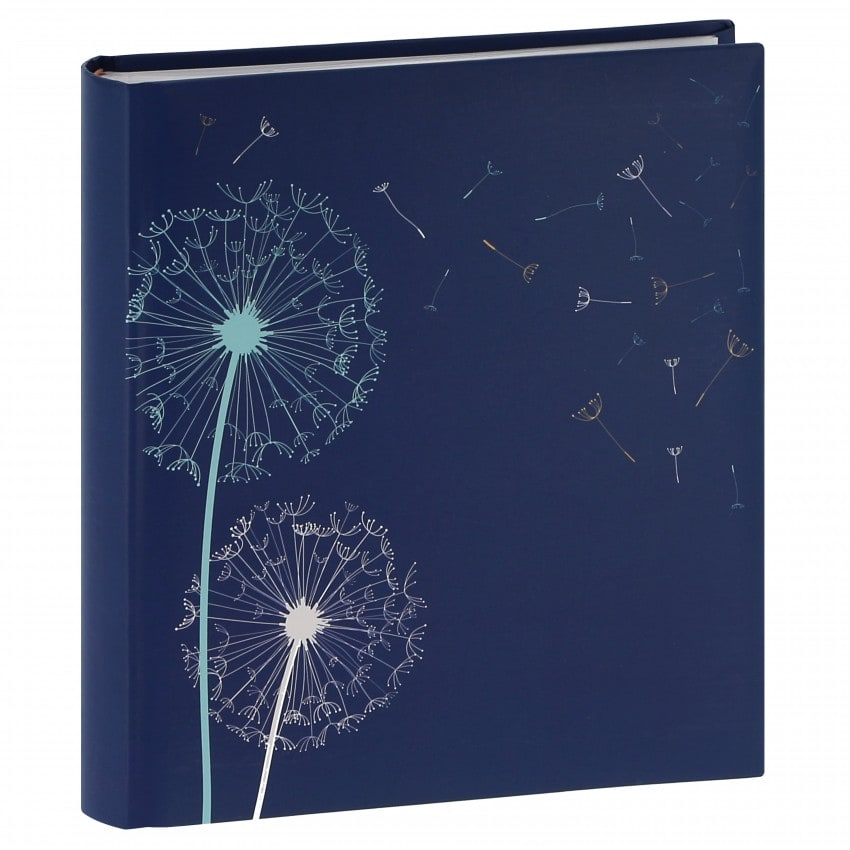 mémo fantaisie série ''Nature'' 200 photos 11,5x15cm - Bleu - Pochettes couverture rigide