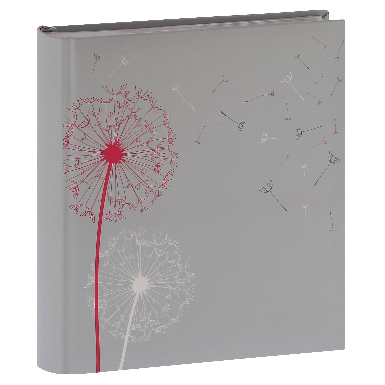 ERICA - Album photo pochettes avec mémo NATURE - 100 pages blanches - 200 photos - Couverture Grise 24x24,8cm