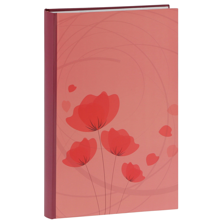 ERICA - Album photo pochettes avec mémo ELLYPSE 2 - 100 pages blanches - 300 photos - Couverture Corail 22,5x37cm