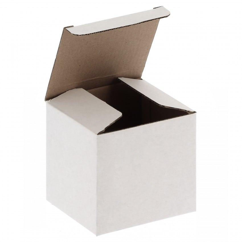 Emballage TECHNOTAPE - Boîte blanche carton pour Mug 330ml (11oz) et pour livraison en magasin