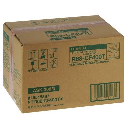 FUJI - Consommable thermique pour ASK-300 15x21cm - 2 x 200 tirages (R68-CF400)