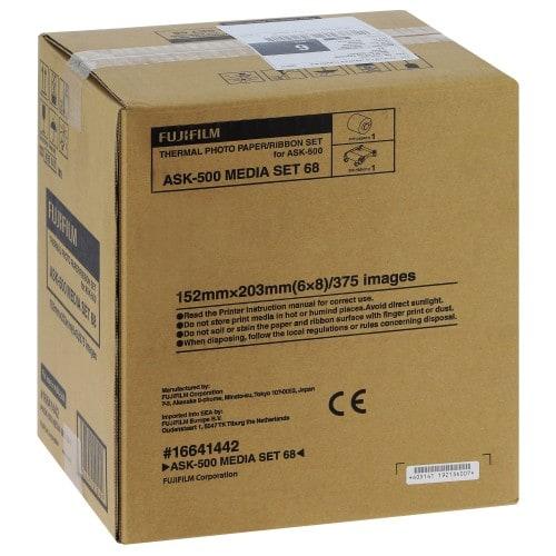 FUJI - Consommable thermique pour ASK-500 - Largeur 152mm - pour 750 photos 10x15cm ou 375 photos 15x20cm