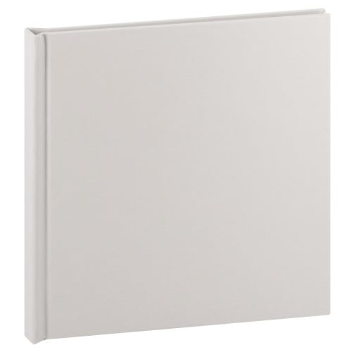 Album photo DEKNUDT 20x20cm - 20 pages Cuir Blanc