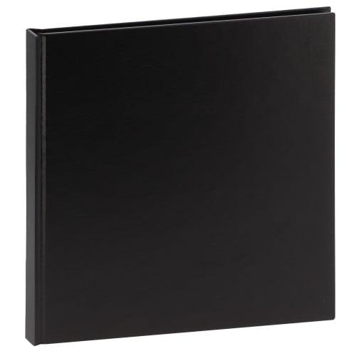 Album photo DEKNUDT 20x20cm - 20 pages Cuir Noir