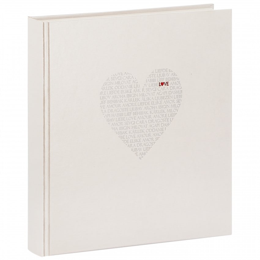 Mariage LOVE 30x31cm 60 pages blanches