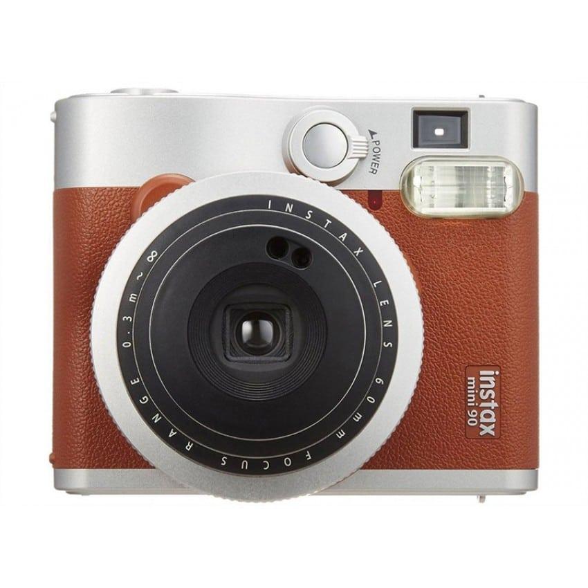 Appareil photo instantané FUJI Instax Mini 90 Neo Classic - Format photo 62x46mm - Livré avec batterie, chargeur et dragonne - D