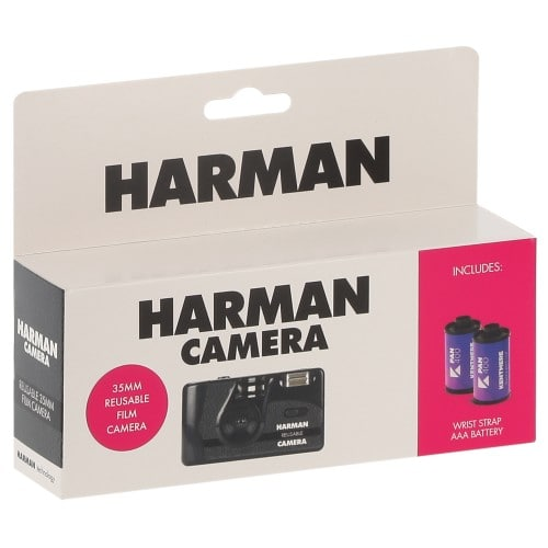 Harman Appareil photo rechargeable + 2 films N&B 36p (6014777)