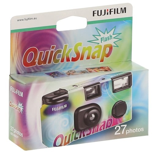 FUJI - Appareil photo jetable Quicksnap flash 400 iso - 27 poses