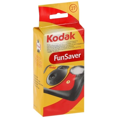 KODAK - Appareil photo jetable Fun Saver Flash 800 iso - 27 poses