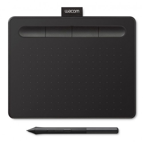 WACOM - Tablette graphique pour signature - CTL-4100K-S (compatible PC Windows et Mac OS)