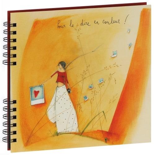 Album photo PANODIA série ARTISTES Illustration Anne-Sophie RUTSAERT 22x22cm - Spirales 80 photos 10x15 - Traditionnel 40 pages