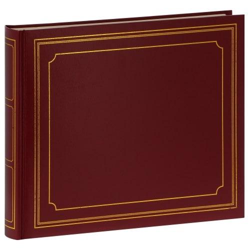 Album photo PANODIA série EMPIRE 33x28cm Paysage 240 photos 10x15 60 pages blanches adhésives Bordeaux