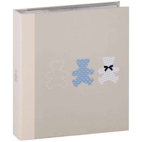 PANODIA - Album photo pochettes avec mémo TIMOTEE - 100 pages blanches - 200 photos - Couverture Bleue 22x24,5cm
