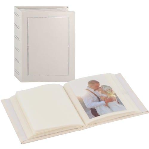 Album photo PANODIA série VENUS 100 photos 11,5x15 Pochettes - 1 vue par page Couverture blanche et filets argentés