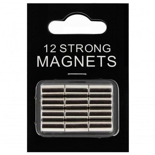 Magnet DEKNUDT argenté - Blister de 12