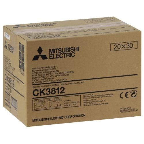 Consommable thermique MITSUBISHI pour CP-3800DW - 20x30cm - 220 tirages