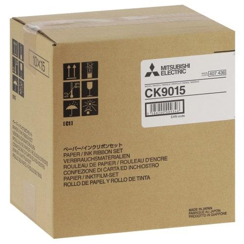 Consommable thermique MITSUBISHI pour CP-9550DW-S / CP-9800DW-S / CP9820DW-S - 10x15cm - 600 tirages