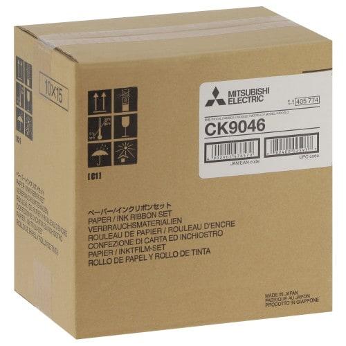 MITSUBISHI - Consommable thermique CK9046 pour CP-9500DW / CP-9550DW / CP9800DW / CP9810DW - 600 tirages 10x15cm