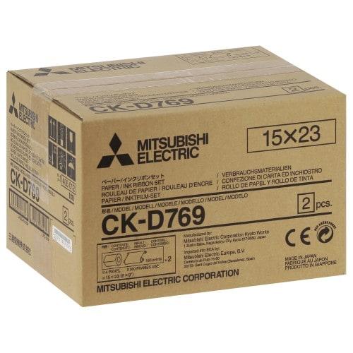 Consommable thermique MITSUBISHI CK-D769 pour CP-D70DW / CP-D707DW / CP-D90DW - 15x23cm - 360 tirages