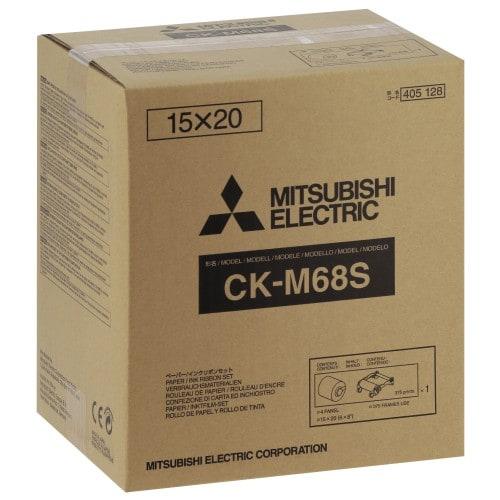 CK-M68S pour CP-M1E - papier 10x15 / 15x15 / 15x20