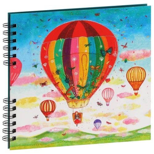 Album photo PANODIA série ARTISTES Illustration Jehanne WEYMAN 22x22cm - Spirales  80 photos 10x15 - Traditionnel 40 pages noire