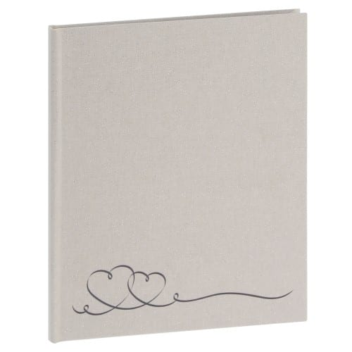 PANODIA - Livre d'or FOREVER - 80 pages blanches - Couverture Blanche 20,5x24,5cm