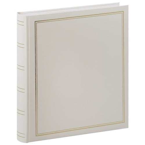PANODIA - Album photo traditionnel CLASSIC - 100 pages blanches - 500 photos - Couverture Blanche 30x33cm