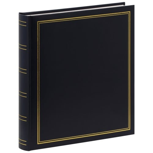 PANODIA - Album photo traditionnel CLASSIC - 100 pages blanches - 500 photos - Couverture Bleue 30x33cm