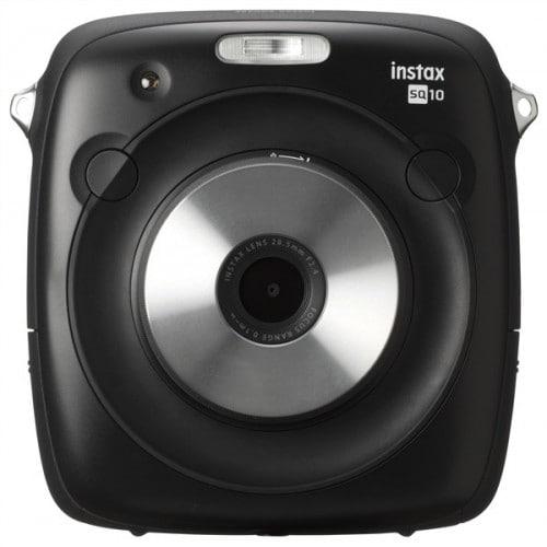 Appareil photo instantané FUJI Instax Square SQ10 noir - Format photo 62x62mm - Livré avec 1 batterie - Dim. (L)119x(H)127x(P)47