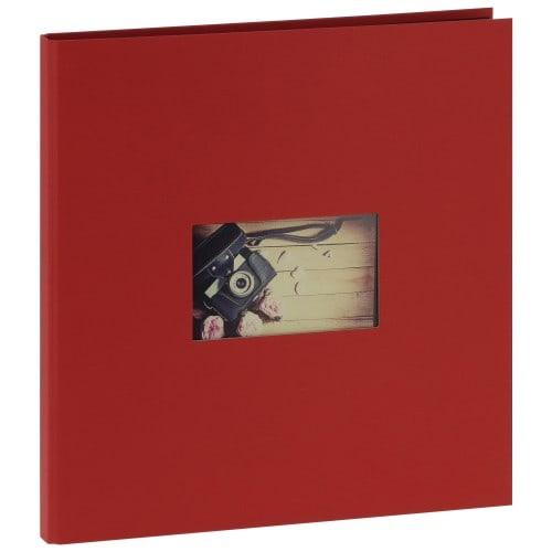 """""""STUDIO"""" 32x32cm - 300 photos 10x15cm - 60 pages traditionnelles (Rouge)"""
