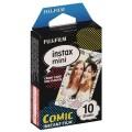 FUJI - Film instantané Instax mini - Comic - Pack 10 photos
